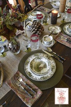 Nancy's Daily Dish: The History of Johnson Brothers and The Friendly Village Tablescape
