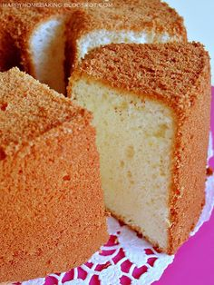 I am getting more and more comfortable with making a chiffon cake. I no longer feel like having a stomach full of butterflies whenever I...