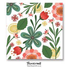 Flower Burst www.flowermill.co.za