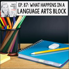 Teachers ask me all the time, how do I fit in time for language arts. I simply set up a language arts block to ensure I cover all the needed skills for a complete literacy instruction program. Today lets take a look at how we can schedule a language arts schedule with a 60, 45, and 30-minute block. These scheduling ideas ensure your elementary or middle school centers to have plenty of activities to interact with spelling words and vocabulary, along with reading. #student #teacher…