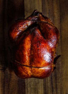 Oven Roasted Peking Chicken - A cross between a roasted chicken and Peking duck, this recipe is for days when you have that craving for peking duck but chicken is all you have to work with.