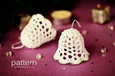 Crochet Pattern - Crochet Christmas Bells