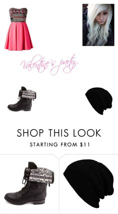 """Ifunny party"" by her-in-the-corner ❤ liked on Polyvore featuring Charlotte Russe, women's clothing, women, female, woman, misses and juniors"
