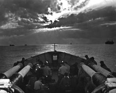 Easter Sunday April 9th 1944 aboard the USS Duane