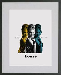 Diva Pop Art-Singer-Tri Color-Digital Print by TheCasualCanvas