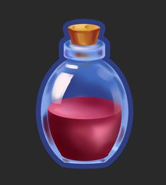 Magic Bottles, Game Icon, Games, Artwork, Work Of Art, Auguste Rodin Artwork, Gaming, Artworks, Plays