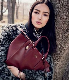 Fei Fei Sun by Steven Meisel for Coach Fall/Winter 2015/2016 Campaign
