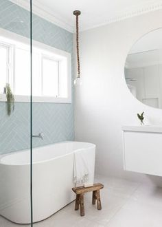 Simple Bathroom Shower Makeover Decor Ideas to Upgrade Your Bathroom Modern Bathroom Renovations, Shower Makeover, Blue Bathroom, Bathroom Interior, Modern Bathroom, Simple Bathroom, Bathroom Shower, Bathrooms Remodel, Blue Bathrooms Designs