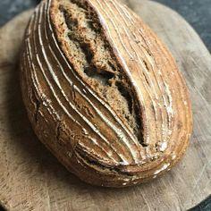 Sourdough Crunchy Beautiful Real bread with poppy seed kvasok kvashellip