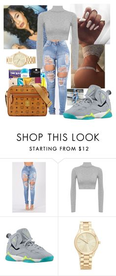 """""""babygirl you so damn fine tho.."""" by imghtbeeblue ❤ liked on Polyvore featuring WearAll and Michael Kors"""
