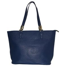 3dc9cedc252 Womens Sydney Blue Vegan Leather Tote Handbag