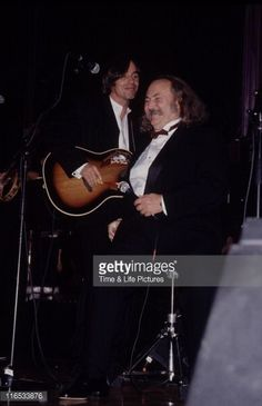 Jackson Browne and David Crosby