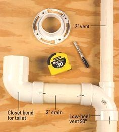 Home Improvement 715931671988921354 - Confused by plumbing codes? Find tips and information on common plumbing codes, purchasing the right fittings, avoiding cutting notches in joists, and more. Source by Plumbing Drains, Bathroom Plumbing, Plumbing Pipe, Plumbing Fixtures, Basement Bathroom, Bathroom Fixtures, Bathroom Repair, Home Renovation, Home Remodeling