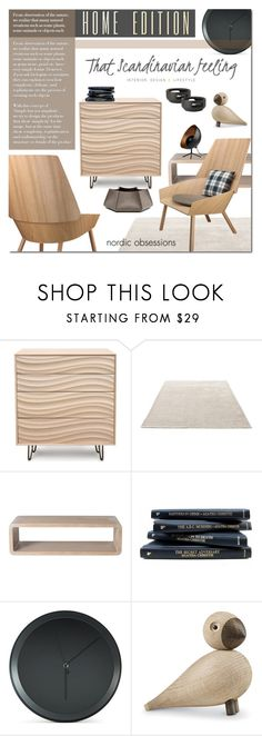 """Untitled #1160"" by valentina1 ❤ liked on Polyvore featuring interior, interiors, interior design, home, home decor, interior decorating, Copeland Furniture, &Tradition, McGuire and BoConcept"