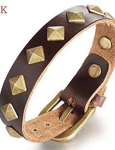 Armband ( Leder ) Vintage/Niedlich/Party/Büro/Freizeit - http://uhr.haus/weiq/armband-leder-vintage-niedlich-party-buero