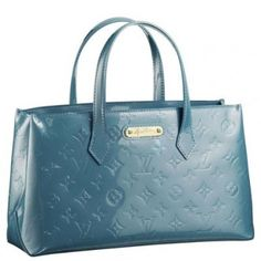 Louis Vuitton Wilshire Boulevard Handbag M93646 Blue