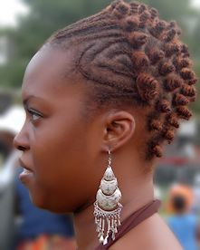hair styles with twists unique hairstyle with bantu knots black 1033