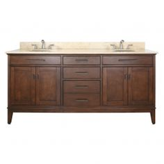 Buy the Avanity Tobacco / Beige Marble Top Direct. Shop for the Avanity Tobacco / Beige Marble Top Madison Free Standing Vanity Set with Wood Cabinet, Stone Top, and Two Undermount Sinks and save. Double Sink Bathroom, Double Sink Vanity, Bathroom Sink Vanity, Vanity Cabinet, Bath Vanities, Master Bathroom, Double Sinks, Modern Bathroom, Hall Bathroom