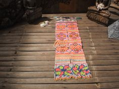 Embroidered Textile Tribal  Panel By The Hmong by KulshiMumkin, $10.00