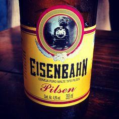 Eisenbahn #pilsen #beer #eisenbahn #floripa #sun #gelada #cerveja #hashtag #iphone - @brenocl