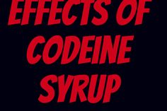 The Ill Effects of Codeine Syrup and Its Health Hazards on The Youth of Today Youth Of Today, Cough Syrup, Runny Nose, Latest Gadgets, Change Is Good, Self Help, Health, Life Coaching, Health Care