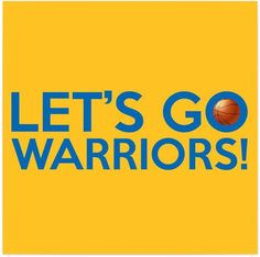 A typography artwork dedicated to the Golden State Warriors basketball team and its fans, sporting the Let's Go Warriors! chant and the team colors. Basketball Games Online, Basketball Finals, Basketball Scoreboard, Basketball Teams, Basketball Posters, 2017 Nba Finals, Golden State Warriors Basketball, Warriors Stephen Curry, Sports Figures