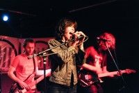 Whale Tooth performs at BMI's CMJ showcase October 20 at Bar Matchless in Brooklyn.