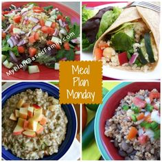 Week 2 of the Healthy Eating Challenge Meal Plan with more unprocessed meal ideas.
