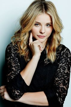 Immagine di chloe grace moretz, actress, and blonde