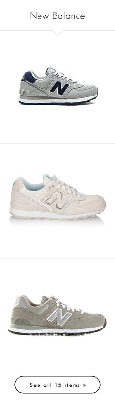 """""""New Balance"""" by baludna ❤ liked on Polyvore featuring shoes, sneakers, trainers, new balance, new balance footwear, rubber sole shoes, new balance trainers, new balance shoes, nude and mesh shoes"""