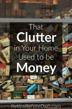 The useless clutter around your house used to be money. When I see clutter, I wish I still had the money instead of the stuff. Organisation, Clutter Organization, Kitchen Organization, Saving Ideas, Money Saving Tips, Money Tips, Getting Rid Of Clutter, Konmari, Organizing Your Home