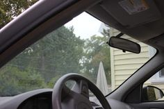 How to Clean the Inside of Car Windows Without Streaks | eHow