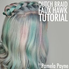 Don't let the summer sun weigh down your style. Show off your amazing color and sweet style with this Dutch Braid Tutorial!