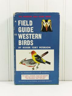 A Field Guide to Western Birds by Roger Tory Peterson, 2nd Edition 1969 Ninth Printing, National Audubon Society  #naturegirl22 on Etsy #NaturesWalkVintage