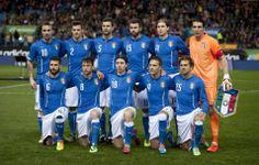Ed ecco l'Italia scelta da Prandelli per questo impegni amichevole internazionale
