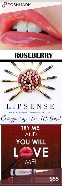Roseberry LipSense Collection Roseberry LipSense Color, Glossy Gloss, & Oops Remover. LipSense Makeup Lipstick
