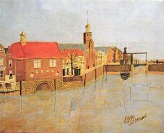 Delfshaven (Rotterdam), Cornelis van Breugel, naïeve schilder