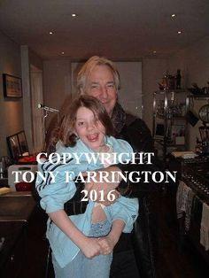 Saski Farrington at Alan's home.                                   Photo coutesy of                              Tony Farrington.                                                Zish.