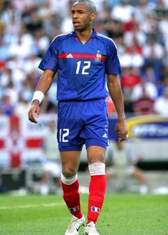 Thierry Henry of France at Euro 2004.