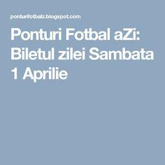 Ponturi Fotbal aZi: Biletul zilei Sambata 1 Aprilie Martie, Blog, 19 Aprilie, Tennis, Blogging
