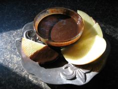 My low carb chocolate dipping sauce is tasty with tart apples.