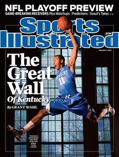 John Wall helps kick off the Calipari era in Kentucky basketball. Wall went on to become the number 1 overall draft pick. January 11, 2010.