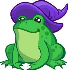 Image result for frog girl  clipart