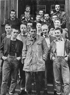 60s English Rude Boy Skinheads - Wad'ya mean we look like something off Oliver Twist, this is our best clobber. Watch out for these guys ... walk on the other side of the street and above all, avoid eye contact.