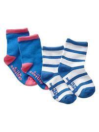 Blue socks (2-pack)