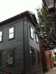 Black house in Providence
