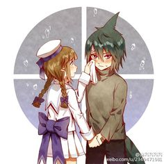 Wadanohara and The Great Blue Sea Fanart Wadanohara and Samekichi