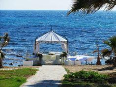 Beach gazebo 2 Kefalos Beach, Beach Weddings, Gazebo, Outdoor Structures, Weddings At The Beach, Kiosk, Pavilion, Cabana