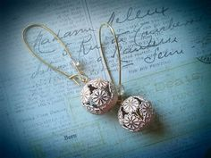 Pink Boho Earrings With Glass Crystals.  by MissShugsJewelryShow