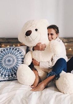 Teddy bear🐻 shared by ~Dina~ on We Heart It Giant Teddy Bear, Cute Teddy Bears, My New Room, My Room, Chill Pill, Room Goals, Just Relax, Photos, Pictures